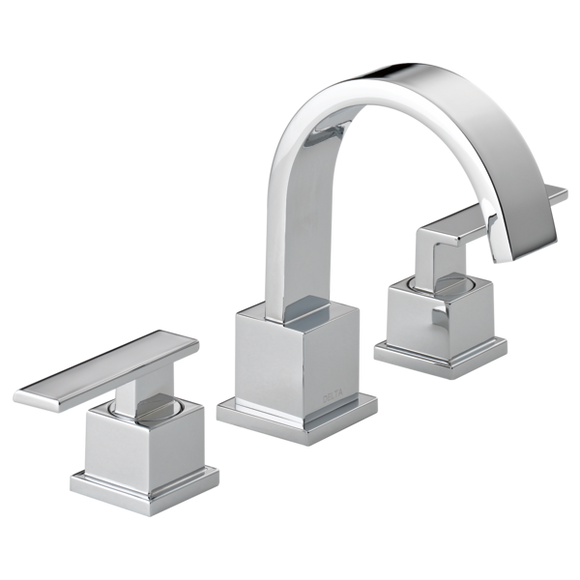 Delta Vero Two Handle Widespread Lavatory Faucet in Chrome