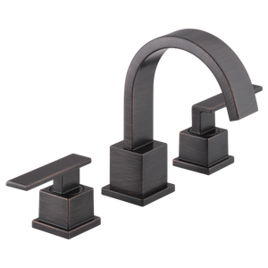 Delta Vero Two Handle Widespread Lavatory Faucet in Venetian Bronze - SpeedySinks