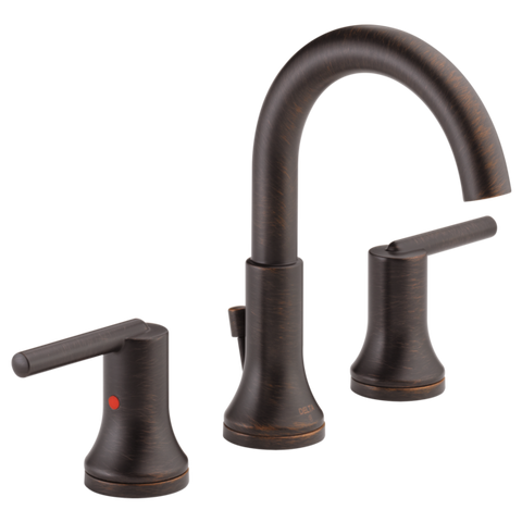 Delta Trinsic Two Handle Widespread Lavatory Faucet in Venetian Bronze