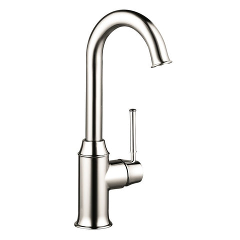 Hansgrohe Talis C Single Handle Bar Faucet in Polished Nickel