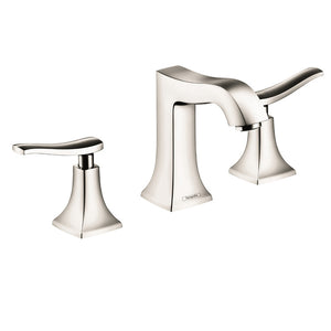 Hansgrohe Metris C Widespread Faucet, 1.2 GPM in Polished Nickel - SpeedySinks