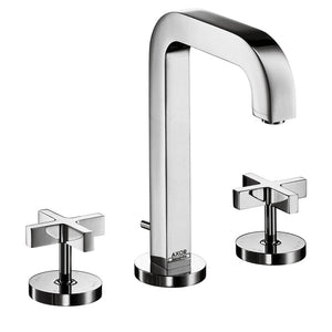 Hansgrohe AXOR Citterio Widespread Faucet with Cross Handles in Chrome