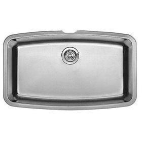 "Blanco 440104 Performa 32"" x 19"" Super Single Stainless Steel Kitchen Sink - SpeedySinks"