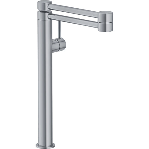 Franke Pescara PFD4480 Satin Nickel Deck Mounted Pot Filler - Chariotwholesale