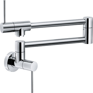 Franke Pescara PF4400 Polished Chrome Wall Mounted Pot Filler