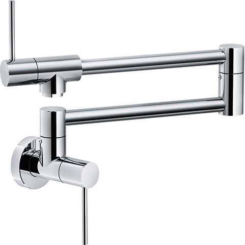 Franke Pescara PF4400 Polished Chrome Wall Mounted Pot Filler - SpeedySinks