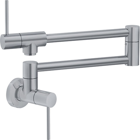 Franke Pescara PF4480 Satin Nickel Wall Mounted Pot Filler - SpeedySinks