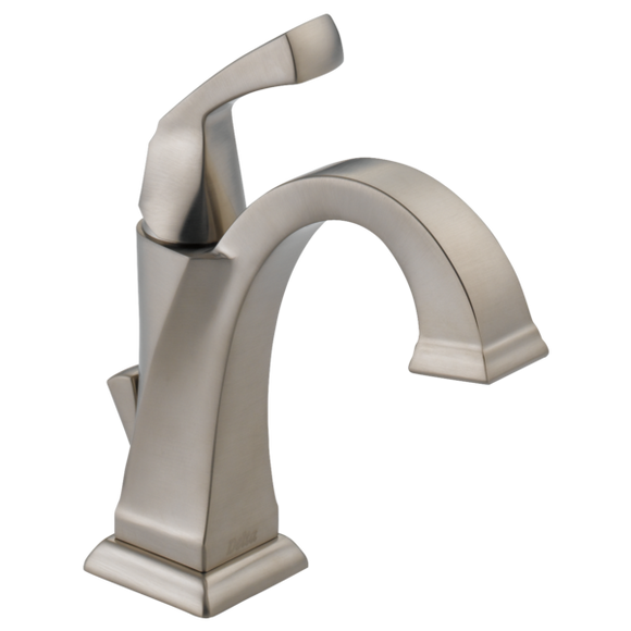 Delta Dryden Single Handle Lavatory Faucet in Stainless