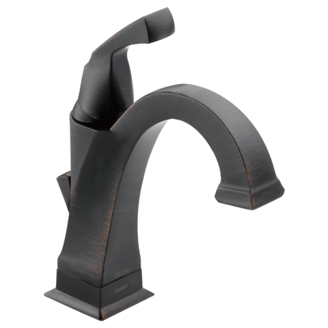 Delta Dryden Single Handle Lavatory Faucet with Touch2O.xt Technology in Venetian Bronze
