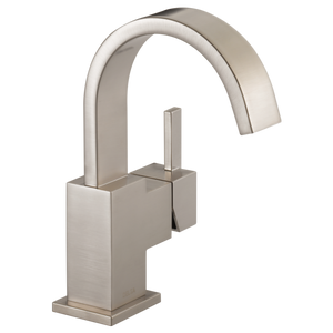 Delta Vero Single Handle Lavatory Faucet in Stainless - SpeedySinks