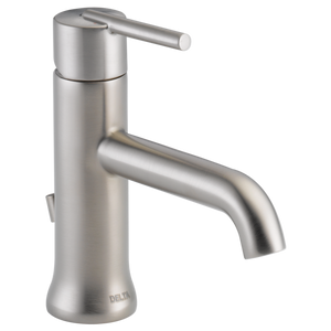 Delta Trinsic Single Handle Lavatory Faucet in Stainless - SpeedySinks