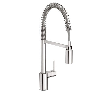 Moen Align One Handle Pre-Rinse Spring Pulldown Kitchen Faucet in Chrome