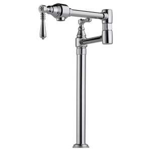 Brizo Traditional Deck Mount Pot Filler in Chrome - SpeedySinks