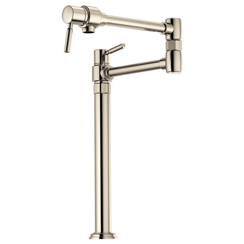 Brizo Euro Deck Mount Pot Filler in Polished Nickel - SpeedySinks