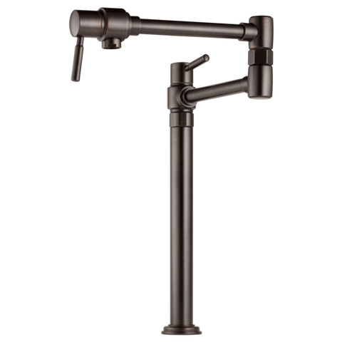 Brizo Euro Deck Mount Pot Filler in Venetian Bronze - SpeedySinks