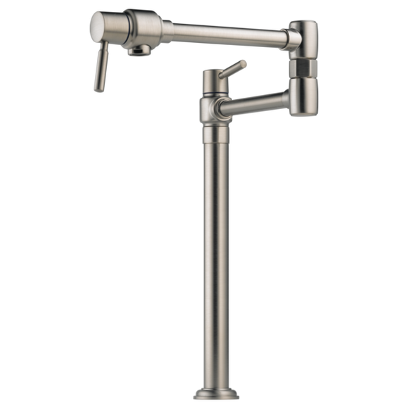 Brizo Euro Deck Mount Pot Filler in Stainless - SpeedySinks