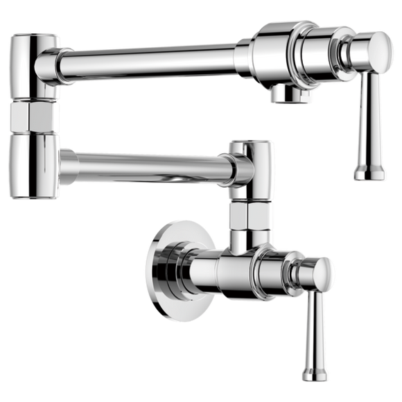 Brizo Artesso Wall Mount Pot Filler in Chrome - SpeedySinks