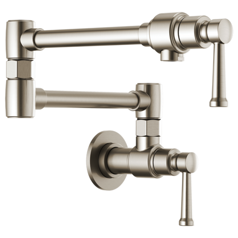 Brizo Artesso Wall Mount Pot Filler in Stainless - SpeedySinks