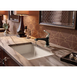 Oasis Tideway with a Brizo Rook Single Handle Single Hole Lavatory Faucet