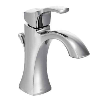 Moen Voss One Handle High Arc Bathroom Faucet in Chrome