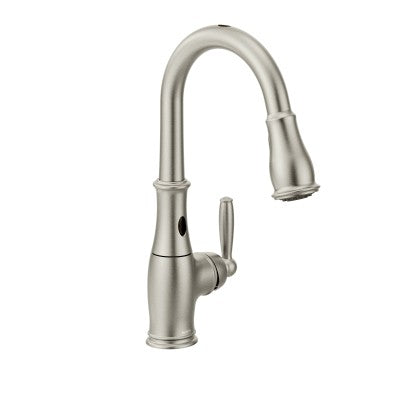 Moen Brantford One handle High Arc Pulldown Kitchen Faucet Spot Resist Stainless