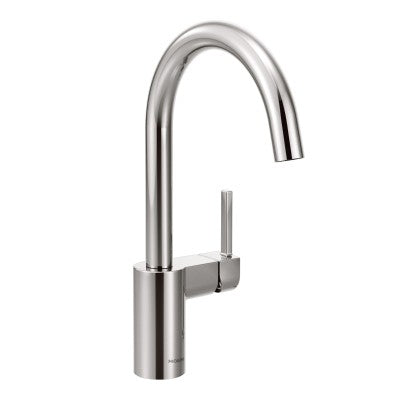 Moen Align One Handle High Arc Kitchen Faucet in Chrome