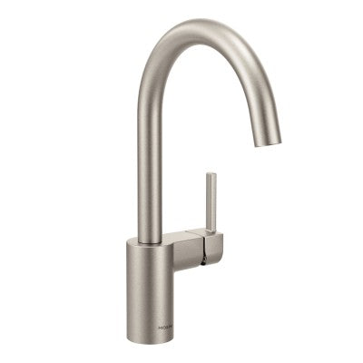 Moen Align One Handle High Arc Kitchen Faucet in Spot Resist Stainless