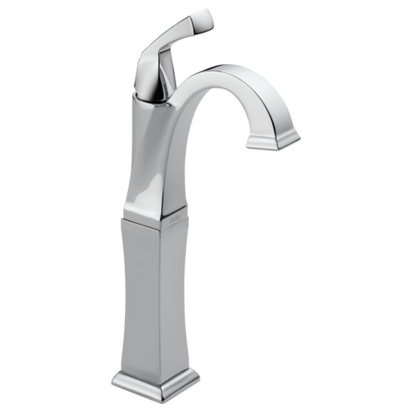 Delta Dryden Single Handle Vessel Lavatory Faucet in Chrome