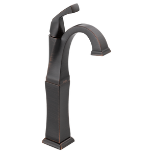 Delta Dryden Single Handle Vessel Lavatory Faucet in Venetian Bronze - SpeedySinks