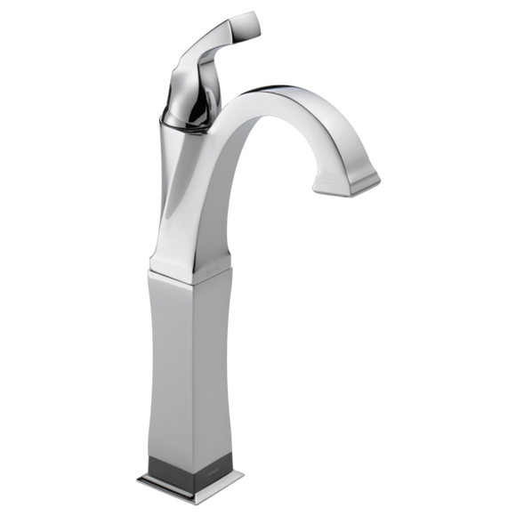 Delta Dryden Single Handle Vessel Lavatory Faucet with Touch2O.xt Technology in Chrome