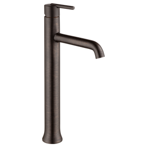 Delta Trinsic Single Handle Vessel Lavatory Faucet in Venetian Bronze