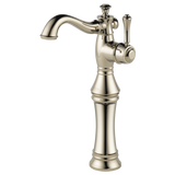Delta Cassidy Single Handle Vessel Lavatory Faucet in Champagne Bronze