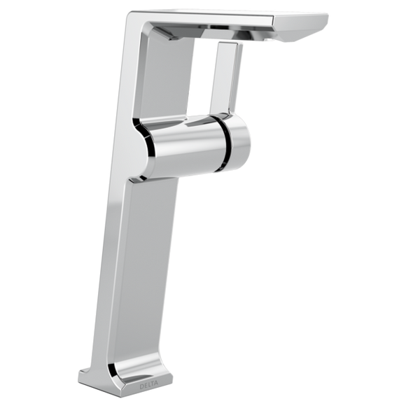 Delta Pivotal Single Handle Vessel Lavatory Faucet in Chrome