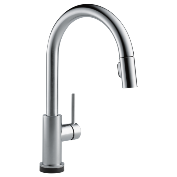 TRINSIC® VoiceIQ™ Single-Handle Pull-Down Kitchen Faucet with Touch2O® Technology - Chariotwholesale