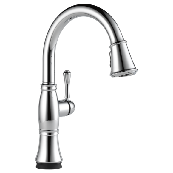 Delta Cassidy Single Handle Pull-Down Kitchen Faucet with Touch-2-0 Technology in Chrome