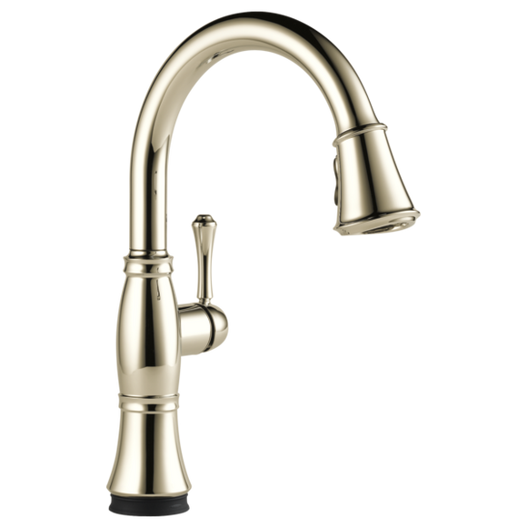 Delta Cassidy Single Handle Pull-Down Kitchen Faucet with Touch-2-0 Technology in Polished Nickel