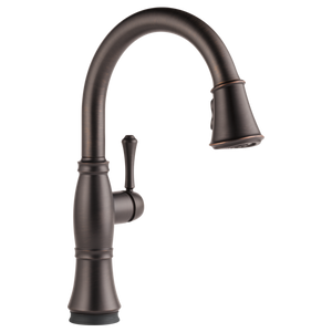 Delta Cassidy Single Handle Pull-Down Kitchen Faucet with Touch-2-0 Technology in Venetian Bronze