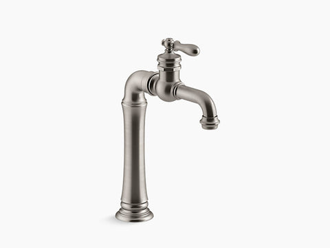 Kohler Artifacts Gentlemen's Bar Sink Faucet in Vibrant Stainless