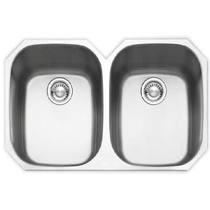 "Presidential Adams Large (35"") 16 Gauge Undermount Stainless Steel Sink - SpeedySinks"