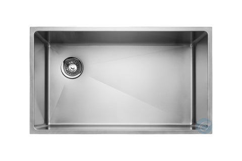 Master Chef Amiens Single Bowl Undermount Kitchen Sink With Drain on Left Side