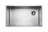 Master Chef Amiens Single Bowl Undermount Kitchen Sink With Drain on Left Side - Chariotwholesale