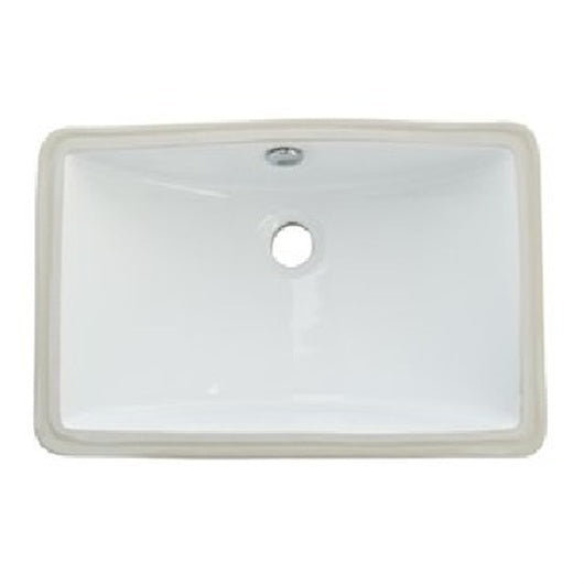 Oasis Canyon Small Bathroom Porcelain Sink - SpeedySinks