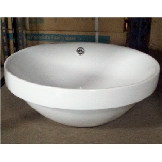 Crater Porcelain Vessel Sink - SpeedySinks