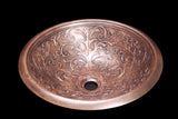 Itanos Bronze Bathroom Sink - Chariotwholesale