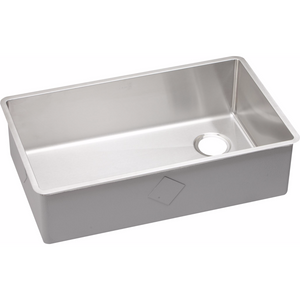 Elkay ECTRU30179R Crosstown Stainless Steel Single Bowl Undermount Kitchen Sink - SpeedySinks