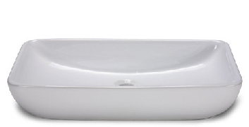 Oasis Gemini White Bathroom Porcelain Sink