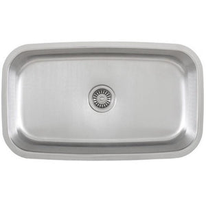 Presidential Jackson 16 Gauge Undermount Stainless Steel Sink - SpeedySinks