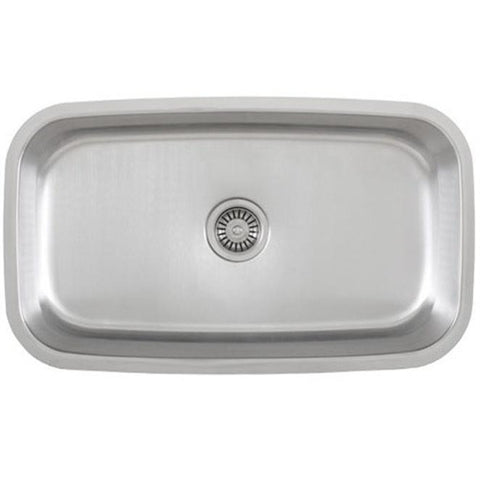 Presidential Jackson XL 18 Gauge Undermount Stainless Steel Sink - SpeedySinks