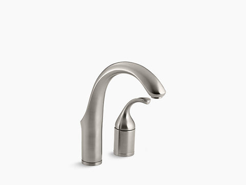 Kohler Forté Two-Hole Bar Faucet with Lever Handle in Vibrant Stainless