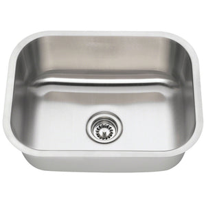 Presidential Lincoln-Center Premium 18 Gauge Undermount Stainless Steel Utlity/Bar Sink - SpeedySinks